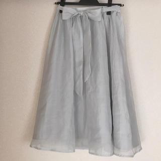 ミスティウーマン(mysty woman)のミスティウーマン  スカート フリーサイズ(ひざ丈スカート)