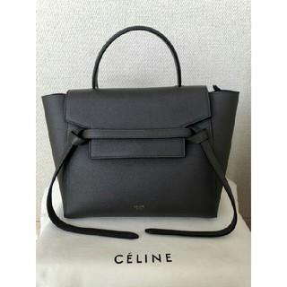 celine - 美品CELINEベルトバッグ マイクロ