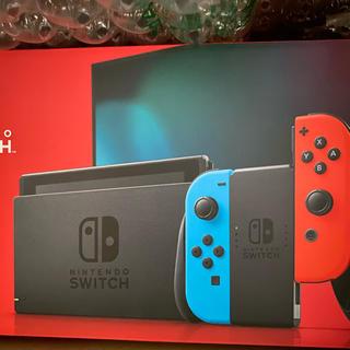 ニンテンドースイッチ(Nintendo Switch)の新品未開封 Nintendo Switch ネオンカラー(家庭用ゲーム機本体)
