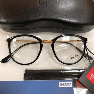 レイバン(Ray-Ban)のレイバン サングラス メガネ RX7140 2000 サイズ49 正規品 新品(サングラス/メガネ)