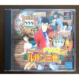 プレイステーション(PlayStation)のHEIWA パーラー! PRO ルパン三世 Special(家庭用ゲームソフト)