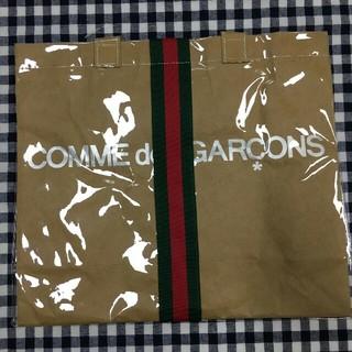 COMME des GARCONS - GUCCI×COMMEdesGARCONS PVCトートバッグ
