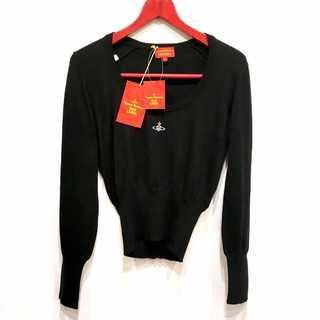 Vivienne Westwood - 新品タグ付き ヴィヴィアンウエストウッド オーブ刺繍 綿ニット イタリア製
