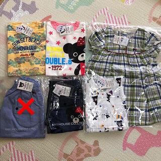 ダブルビー(DOUBLE.B)の新品 ミキハウス ダブルビー 90 女の子 (Tシャツ/カットソー)