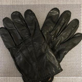 コーチ(COACH)の【お値下しました】COACH コーチ 革手袋(手袋)
