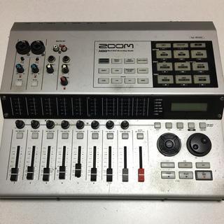 ズーム(Zoom)のZOOM マルチトラックレコーダー MTR HD8CD 起動確認済み(MTR)