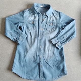 ジーユー(GU)のGU 女の子 120cm アウター シャツ(ジャケット/上着)