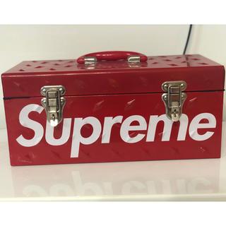 シュプリーム(Supreme)のsupreme ダイヤモンド プレート ツールボックス   工具箱(ケース/ボックス)