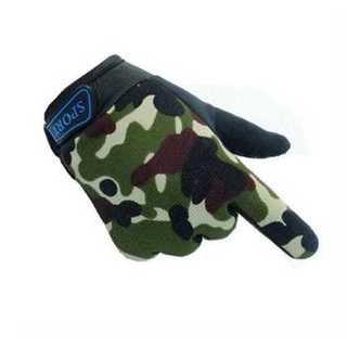 手袋 グローブ 迷彩 キッズ 子供用 滑り止め 防寒 通気性 コットン 調整(手袋)