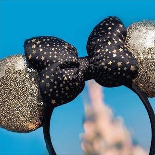 ディズニー(Disney)の再入荷❣️ディズニーランドパリ ゴールドカチューシャ海外ディズニーミニー(カチューシャ)