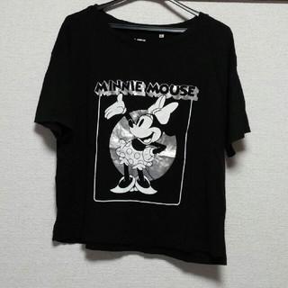 ディズニー(Disney)の美品❗格安❗ミニーマウス 半袖Tシャツ UNIQLO ディズニー(Tシャツ(半袖/袖なし))