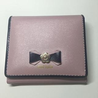 MARY QUANT - マリークワント MARY QUANT 二つ折り財布
