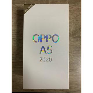 アンドロイド(ANDROID)のOPPO A5 2020 SIMフリー ブルー(スマートフォン本体)