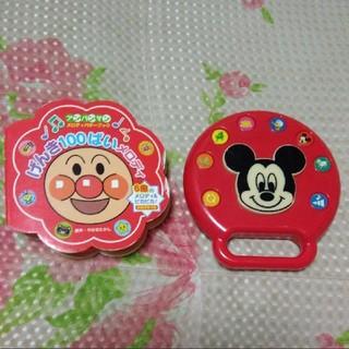 アンパンマン げんき100ばいメロディ ミッキー タンバリン(楽器のおもちゃ)