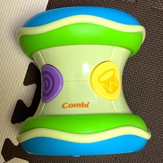 コンビ(combi)のコンビ 光るにぎやかドラム 赤ちゃんのおもちゃ(楽器のおもちゃ)