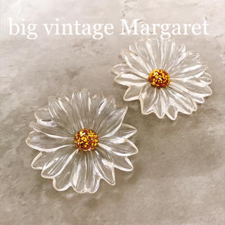 【再販】big vintage Margaret pierce(ピアス)