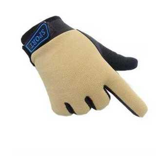 手袋 グローブ おうど色 キッズ 子供用 滑り止め 防寒 通気性 コットン 調整(手袋)