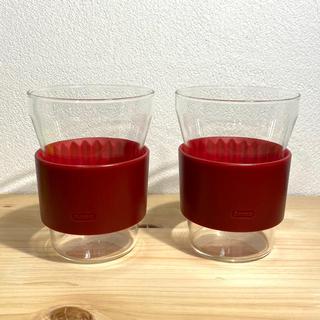 イッタラ(iittala)のIitaka HotCool Tea  red(グラス/カップ)