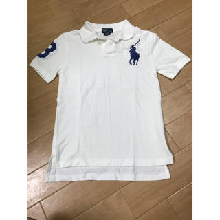 ポロラルフローレン(POLO RALPH LAUREN)の【新品未使用】ポロ ラルフローレン ポロシャツ ビックポニー 140cm(Tシャツ/カットソー)