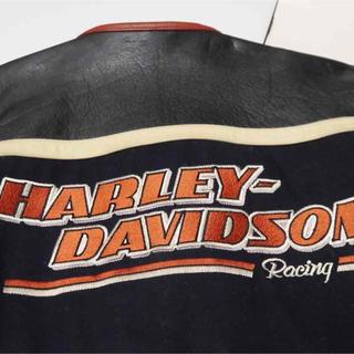 Harley Davidson - HARLEY DAVIDSOM ビィンテージ革ジャケット