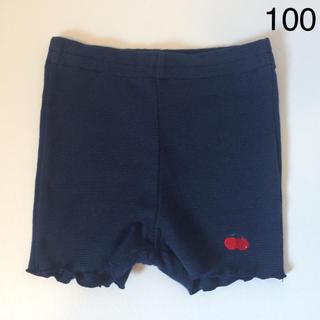 familiar - 美品 ファミリア レギンス(1分丈) ショートパンツ 100