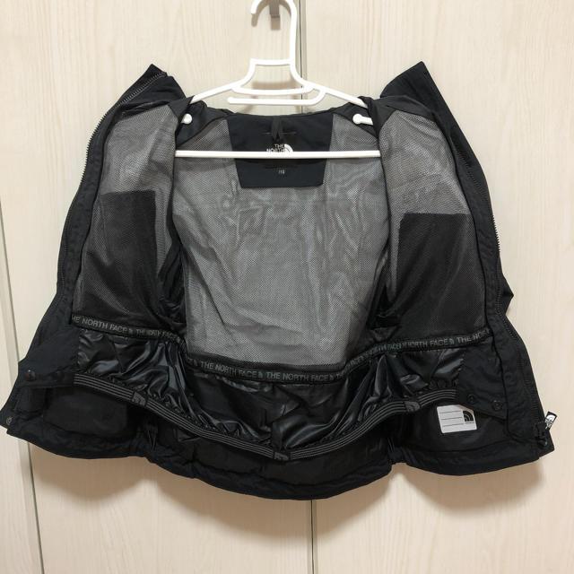 THE NORTH FACE(ザノースフェイス)のノースフェイス スクープジャケット 110cm  ブラック キッズ/ベビー/マタニティのキッズ服男の子用(90cm~)(ジャケット/上着)の商品写真