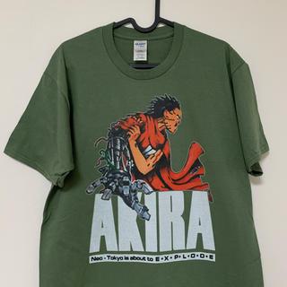 AKIRA Tシャツ カーキ アキラ
