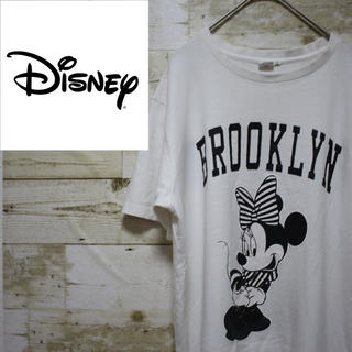 ディズニー(Disney)のdisney ディズニー オーバーサイズ Tシャツ ミニー(Tシャツ/カットソー(半袖/袖なし))