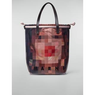 マルニ(Marni)のMARNI PVC PIXEL GRACE PRINTE TOTE BAG(トートバッグ)