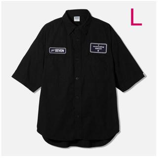 GU - 【新品】GU STUDIO SEVEN ワークシャツ(5分袖)