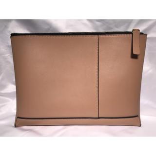 マルニ(Marni)のMARNI LEATHER CLUTCH BAG PINK BEIGE(セカンドバッグ/クラッチバッグ)
