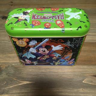 ディズニー(Disney)のTDL 2008 ハロウィン お菓子缶(缶のみ)(キャラクターグッズ)