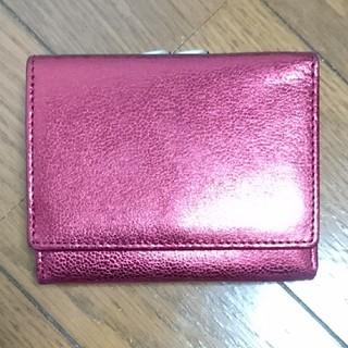 ローズバッド(ROSE BUD)の新品 ローズバッド レッド 折り財布(折り財布)