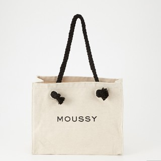 moussy - 新品ホワイト正規品 SOUVENIR SHOPPER 折り畳み郵送します。