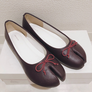 merlot - S merlot メルロー 足袋 変形 バレエシューズ パンプス ぺたんこ靴