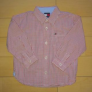 トミーヒルフィガー(TOMMY HILFIGER)のTOMMY HILFIGER KIDS チェックシャツ 90cm(ブラウス)