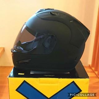 バイク ヘルメット フルフェイス NR-7 マットブラック ライトスモーク(ヘルメット/シールド)