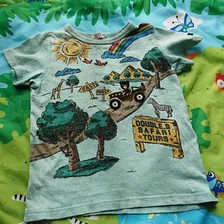ダブルビー(DOUBLE.B)のダブルビー ダブルb 100 ミキハウス 半袖Tシャツ ホットビスケッツ 男の子(Tシャツ/カットソー)