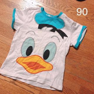 ディズニー(Disney)のドナルドTシャツ 90(Tシャツ/カットソー)