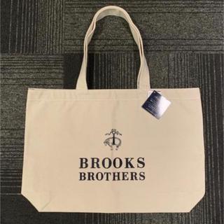 ブルックスブラザース(Brooks Brothers)の【タグ付き】BROOKS BROTHERS 大人気 トートバッグ 白(トートバッグ)