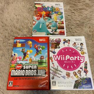 ウィー(Wii)のwii  パーティ エレビッツ スーパーマリオブラザーズ(家庭用ゲームソフト)