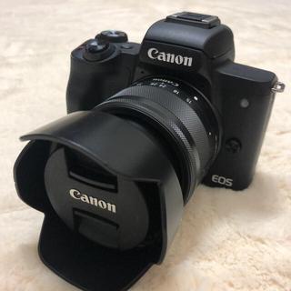 キヤノン(Canon)のCANON EOS KISS M(ミラーレス一眼)