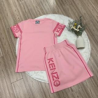 ケンゾー(KENZO)のKenzoケンゾー ツーピース Tシャツ+スカート 二点セット(Tシャツ(半袖/袖なし))