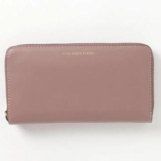 ポロラルフローレン(POLO RALPH LAUREN)の新品 ラルフローレン 長財布 スモーキーピンク(財布)
