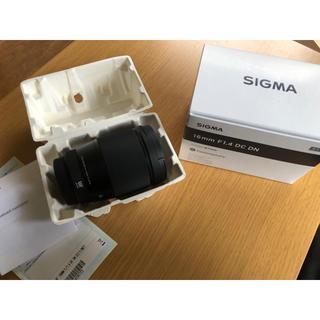 シグマ(SIGMA)の【新品】SIGMA 16mm F1.4 Micro Four Thirds (レンズ(単焦点))