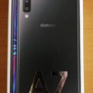 Galaxy - 楽天モバイル galaxy A7 ブラック 新品未開封
