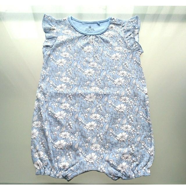 NEXT(ネクスト)の新品 75 next ロンパース2枚セット✿ キッズ/ベビー/マタニティのベビー服(~85cm)(ロンパース)の商品写真