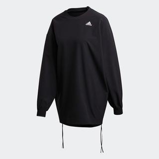 ハイク(HYKE)の週末限定値下げ adidas by HYKE プルオーバー ブラック sサイズ(カットソー(長袖/七分))