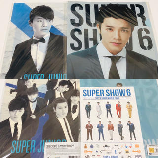 スーパージュニア(SUPER JUNIOR)のSUPERJUNIOR ドンへ クリアファイル&A4フォトセット(アイドルグッズ)