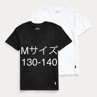 ポロラルフローレン(POLO RALPH LAUREN)のラルフローレン コットンVネックTシャツ 2枚セット Mサイズ(Tシャツ/カットソー)